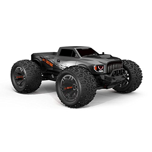 Team Redcat TR-MT10E 1/10 Scale Remote Control Monster Truck, Gun Metal