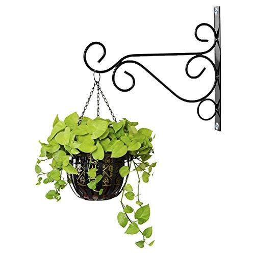 Cozyhoma Hänge-Pflanzen-Halterung, strapazierfähiger Pflanzenhaken, Wand-Übertopf, Haken für Blumentopf, Vogelfutter, Windspiel, Laternen, Aufhänger