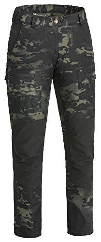 Pinewood Damen Caribou Camou TC Hose, Black Jungle, 46