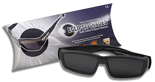 Plastic Eclipse Glasses - Eclipse Shades - With 2 Bonus Pair of our Paper Eclipse Glasses! As we always say 'Make a Friend!' CE and ISO Certified - Made in USA
