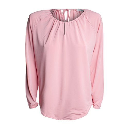 IHEART Damen Bluse Amanda (L, Pink)