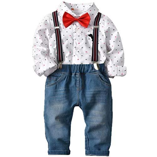 (50% OFF Coupon) Baby Boy Gentlemen Suit W/ Suspenders $15.00