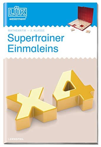 LÜK-Übungshefte: LÜK: 2. Klasse - Mathematik: Supertrainer Einmaleins: Mathematik / 2. Klasse - Mathematik:...
