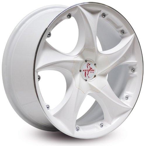 KESKIN KT9 WHITE LIP POLISH 9x20 ET50 5.00x130.00 Hub Hole 71.50 mm - Alu felgen