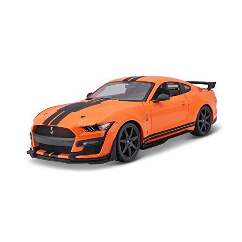 Maisto - Mustang Shelby Gt500 2020 Orange et échelle 1/18 31388Or