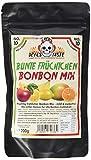 'Bunte Früchtchen' Bonbon Mix - zuckerfrei - 200g - im ZIP Beutel - RED DEVILS TASTE