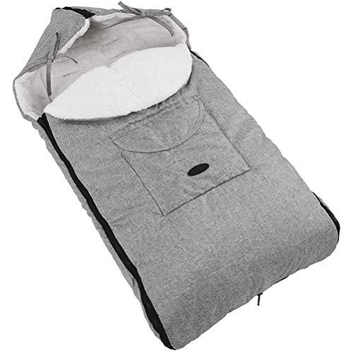 LeeBoom Saco Universal Suave y cálido para bebé, a Prueba de Viento, Impermeable, Manta para Cochecito, Abrigo