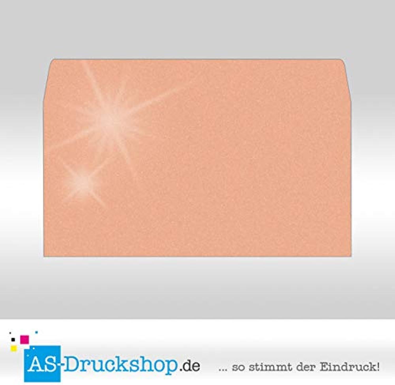 Briefumschlag KuGrün - Pfirsich - mit Perlmutt-Glanz Din Lang   50 Stück B0794XWYC3   Sale Outlet