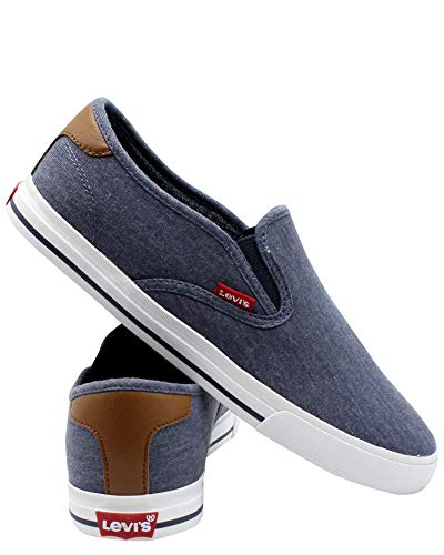 Levi's Mens Seaside CT Slip ON Sneaker Now $22.99 (Was $40.00)