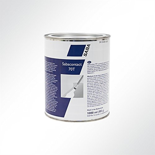 Saba, Sabacontact 70T PVC-lijm, lijm, contactlijm, 1000 ml 1 Stück, transparant