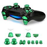 kwmobile Controller Button Replacement Set - For Playstation 4 Pro / PS4 Slim Controller (Gen 2) - Custom...