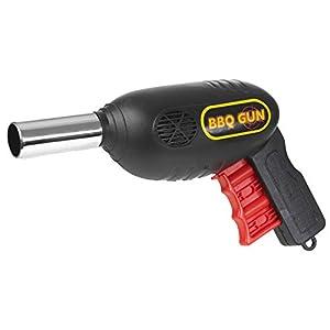 Guilty Gadgets Barbacoa Barbacoa Pistola Llama carbón Parrilla Ventilador Fuegos Encendedor soplador de Aire al Aire…