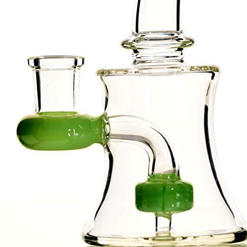 Product Image 3: Bong Cristal THE BOAT - VERONICA 13 cm - Con percolador + Grinder + Bowls + Accesorios. Hecho a mano - Para su uso en tabaco.