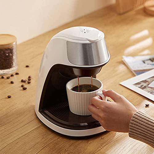 Water cup Cafetera Máquina De Café Expreso, Mini Cafetera Semiautomática, Exquisita Taza Individual, Preparación Uniforme, Prevención De Quemaduras En Seco, Adecuada Para El Hogar
