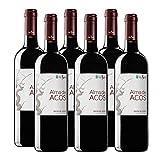 Vino Tinto Alma de Acos de 75 cl - D.O. Ribera del Duero - Bodegas Viña Sastre (Pack de 6 botellas)