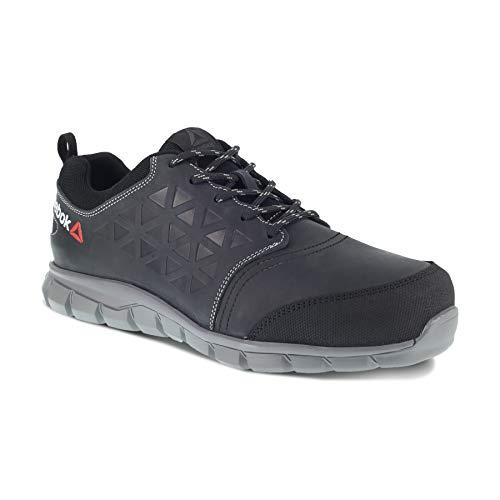 REEBOK Work IB1036S3 Excel Light - Zapatillas Deportivas para Hombre (Aluminio, Impermeables, 45), Color Negro