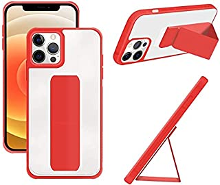 Stylish Multi Use Case Cover For Iphone 11 Pro Transparent In Red