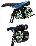 IURIMA - Bolsa trasera para bicicleta de montaña, asiento de coche, bolsa de equitación, accesorios para bicicleta, bolsa de sillín de coche, bolsa de spinning, color verde