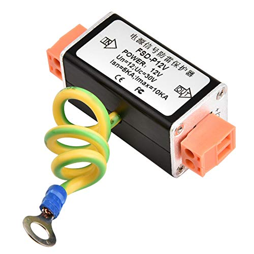 Ethernet Surge Protector, Con Grande Capacità Di Corrente Passante, Risposta Rapida E Protezione Multi-livello, Adatto Per La Protezione Da Sovratensione Di Sistemi Di Trasmissione Tv Via Cavo, Dvr.