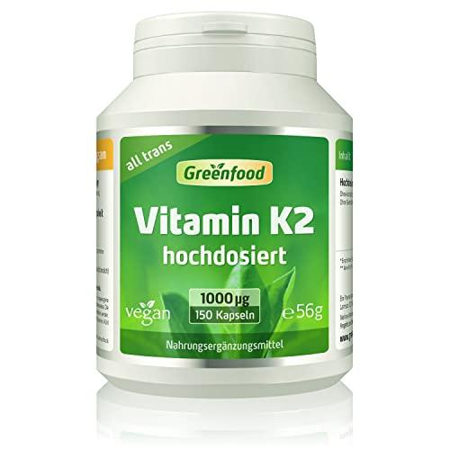 Greenfood Natural Products -  Vitamin K2 (Mk7,