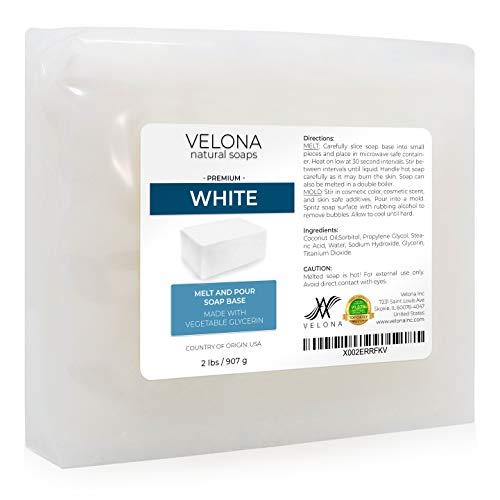 White Melt and Pour Coconut Soap Base