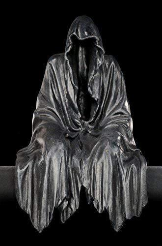 Kantenhocker Schattendämon | Hier residiert die Dunkelheit | Reaper Sensenmann Figur Dämon Gothic Deko