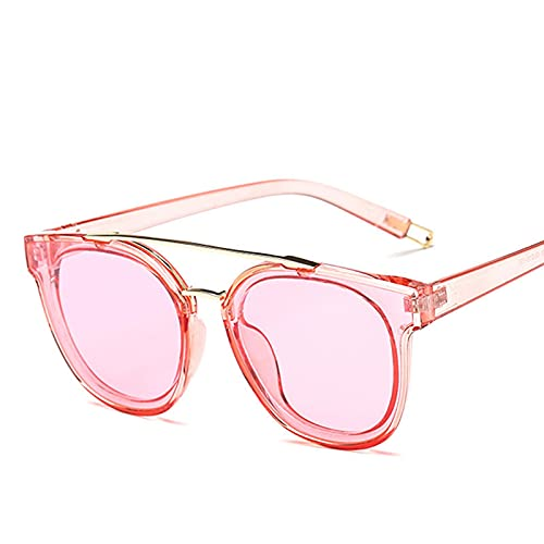 Secuos Gafas De Sol De Ojo De Gato para Mujer, Diseñador De Marca, Gafas De Sol De Conducción De Moda Vintage para Mujer, Lente Uv400, Rosa