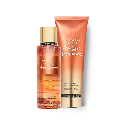 Kit Body Splah + Creme Hidratante Amber Romance Victoria's Secret 236ml+250ml