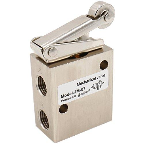 heschen jm-073Way 2Position pneumatische Roller Lever Mechanische Ventil PT1/4Normalerweise geschlossen