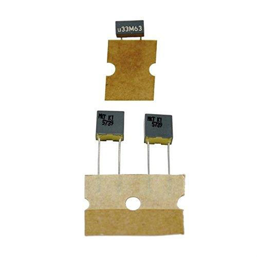 20x MKT-Condensateur rad. 0,33µF 63V DC ; 5mm ; R82DC33303305M ; 330nF