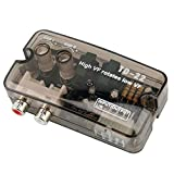 Convertidor de Audio, 12V ABS Convertidor de Audio para Automóvil Estéreo de Alta a Baja Frecuencia Adaptador Convertidor de Nivel de Altavoz con Cable de Control