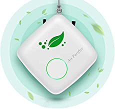Portable Air Purifier Personal for Home, Mini Wearable Air Purifier Necklace Smoke Eliminator for Car, USB Charging Bedroo...