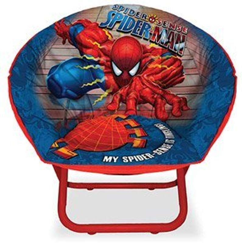 Marvel Ultimate Spiderman Boys Saucer Chair