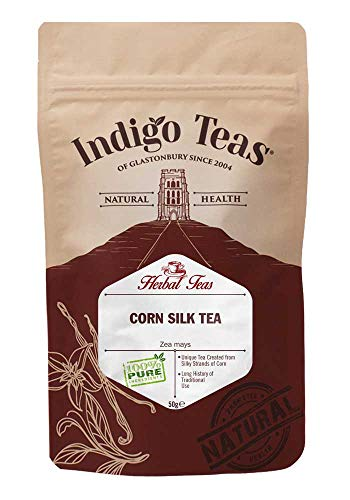 Indigo Herbs Maïszijde losse kruidenthee 50g | Corn Silk Loose Herbal Tea