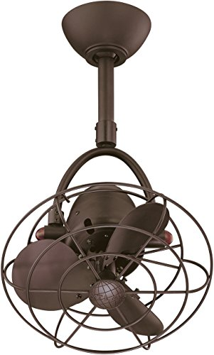 Matthews Fan Company DI-TB-MTL Diane 13' Directional Outdoor Ceiling Fan with Remote...