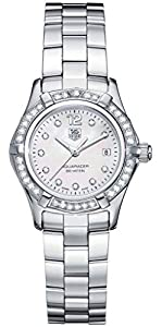 TAG Heuer Women's WAF1416.BA0813 Aquaracer Diamond Accented Quartz Watch Find Prices and Buy NOW!!! and review