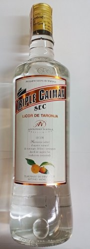 Triple Seco Caimán Licor de Naranja 1Litro