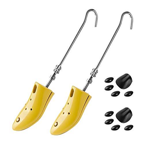 POHOVE Juego de 2 camillas para botas, profesional de alta resistencia, para zapatos ajustables, ampliador de zapatos en forma de árbol de zapatos para pies anchos, afloja los zapatos apretados