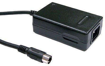 GP25A13D-R1B, AC/DC Adapter - Desktop - 28 Watts: 3 Outputs: 5/12/-12V @ 2.5/1/0.3A - IEC C320-C14 Inlet
