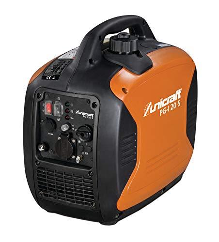 Unicraft Inverter-Stromerzeuger PG-I 20 S (Laufzeit bis zu 6,8 Stunden, Überlastschutz, für Heim, Camping usw.), 6706200