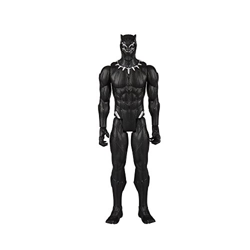 Figurine de la Panthère Noire de la Série Titan Hero Series - 2
