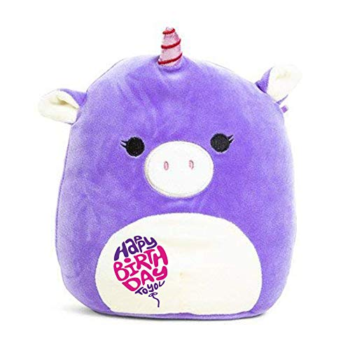Limited Edition! Happy Birthday Squishmallow Pre-Customized for Birthday Original Kellytoy 8