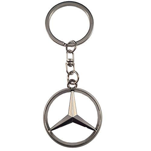 Ludostreet Llavero de Metal Compatible con Marcas de Coche (Mercedes)