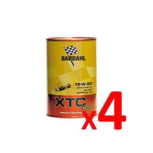Bardahl Huile moteur XTC 15W-50 C60 synthétique 1 litre - 324040 (4)