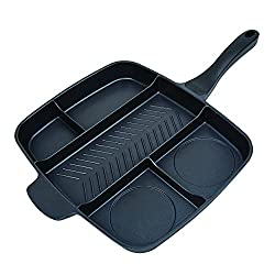 Master Pan Non-Stick Divided Meal Skillet