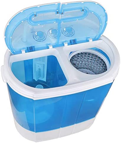 ZenStyle Portable Washer Compact Twin Tub 9 9 LB Mini Top Load Washing Machine Washer Spinner product image