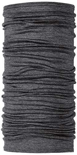 BUFF Lightweight Merino Wool Multifunctional Headwear and Face Mask, Grey, One Size