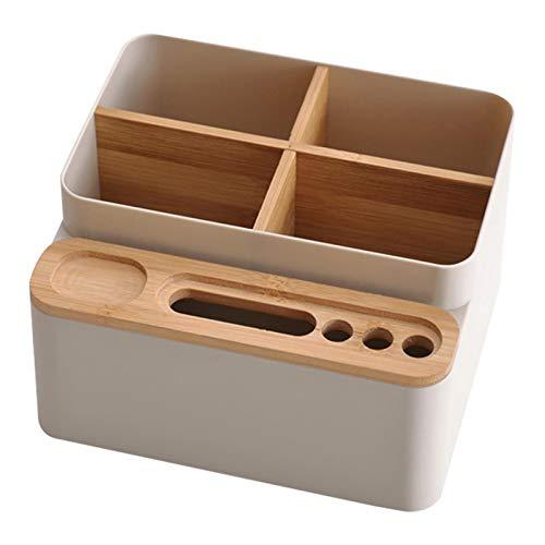 RUIXI Ruxi Escritorio Escritorio Escritorio Papelería Caja Caja Multi Aplicación Papelería Caja Desmontable Ajustable Organizador de Escritorio para el negocio