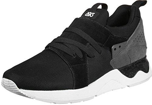 ASICS Damen Gel-Lyte V Sanze Sneaker, Schwarz (schwarz/grau schwarz/grau), 39 EU