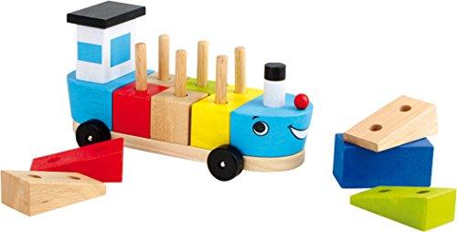 Legler Small Foot Company (Smb5V) - 5847 - Jeu De Construction - Bateau avec Cubes